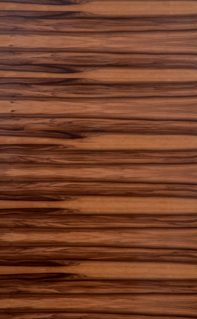 Smoked Satin Walnut Horizontal Wood Veneer - polished - New Delhi, India