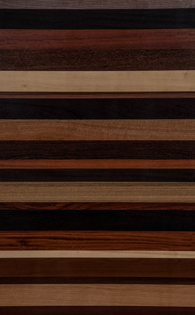 Assorted Horizontal Mismatched Plank Matched Wood Veneer - polished - New Delhi, India